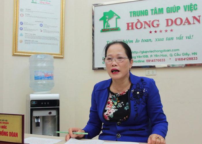 Giám đốc Trung tâm giúp việc Hồng Doan