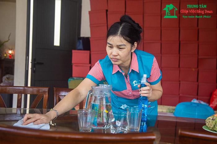 Giúp việc theo giờ tại Trung tâm Giúp việc Hồng Doan - dịch vụ uy tín chất lượng